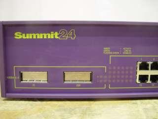 Extreme Networks Summit 24 Port & Gigabit Switch 13011