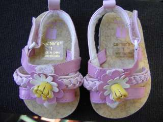 Carters Infant Baby Girls SANDALS Shoes PINK Size 1