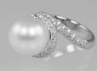 MIKIMOTO Rhapsody 18ct white gold Pearl & Diamond ring