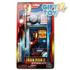 Marvel Super Hero Iron Man 2 Study Kit   Iron Man 4 Pcs