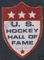 Gordie Howe Mr Hockey HALL OF FAME PATCH AUTO 1/1 RARE