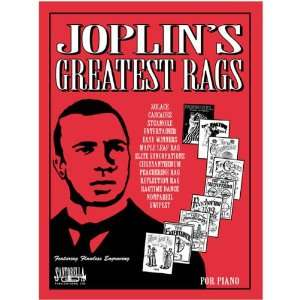 JoplinÕs Greatest Rags Original PS with CD Musical