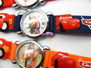 WHOLESALE 10PCS DISNEY PIXAR CAR CHILDRENS WATCHES