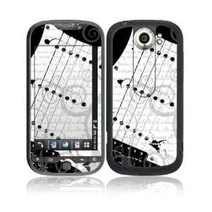 I Love Guitar Decorative Skin Cover Decal Sticker for HTC