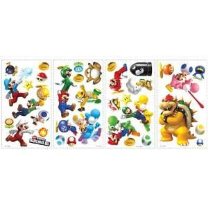ROOMMATES 675SCS Nintendo New Super Mario Wii Peel and