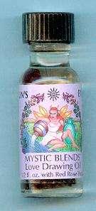 Love Drawing Mystic Blends Oil   Suns Eye 1/2 oz