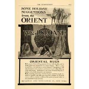 1904 Ad W & J Sloane Oriental Rugs Floor Covering Camel