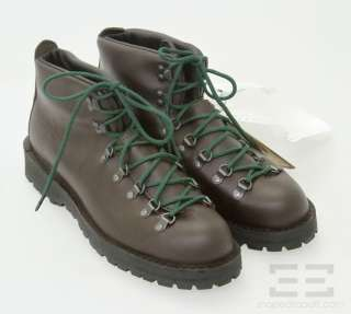 Danner Brown Leather Lace Up Mens Mountain Gore Tex Light II Boots