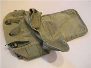 ORIGINAL US ARMY VIETNAM WAR SMALL HAVERSACK COMBAT FIELD PACK