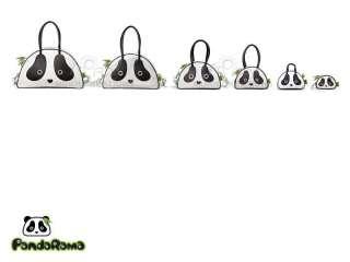 Panda SMALL handbag MORN CREATIONS PANDARAMA kung fu tote purse bag