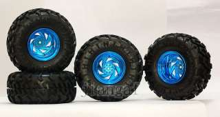 4PCS 1/10 RC CAR MONSTER Wheel Rubber Tires