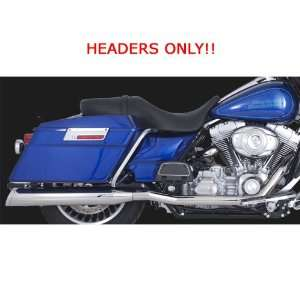 CC Chrome Stepped True Dual Headers for Harley Davidson Touring 2010