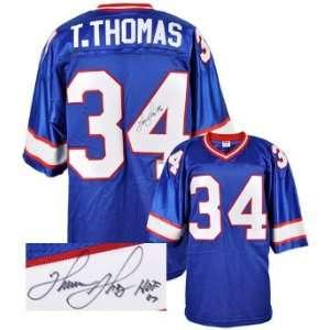 Thurman Thomas Signed Buffalo Bills Jersey   HOF 07