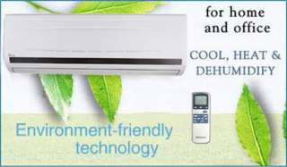 BTU ENERGY STAR Ductless Mini Split Air Conditioner Heat Pump 18 SEER