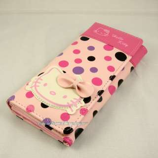 Hello Kitty lady long wallet purse banquet/party bag PU leather KTw