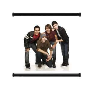 Big Time Rush Pop Group Fabric Wall Scroll Poster (32x24