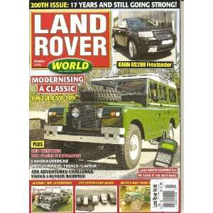 Land Rover World Magazine (Modernising a Classic, October