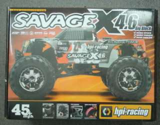 HPI Savage X 4.6 2.4Ghz Ready To Run Monster Truck