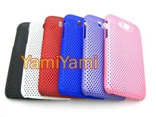 Plastic Skin Protector For HTC sensation XL X315e G21 Hole Cover Case