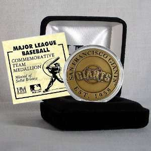 Highland Mint San Francisco Giants Bronze Coin Sports
