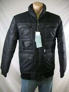 New Mens MARC ECKO Black Icebox Puffer Jacket Small NWT