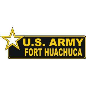 United States Army Fort Huachuca Bumper Sticker Decal 6