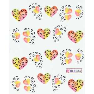 transfer nail decals hydroplaning nail stickers eternal love Beauty