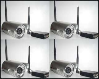 LONG RANGE WIRELESS NIGHTVISION CCTV CAMERA SYSTEM
