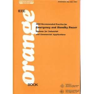 IEEE Orange Book Recommended Practice for Emergency and