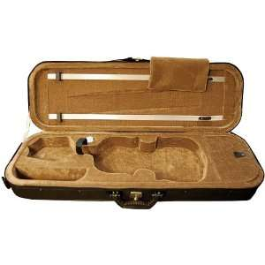 Bunnel Oblong Violin Case, 4/4 size (Full size) Musical