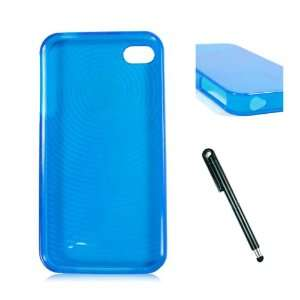 iPhone 4S and iPhone 4th Generation + Soft Touch Stylus Pen for Latest