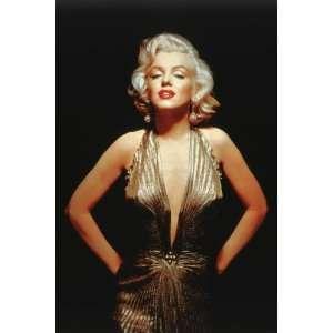 Marilyn Monroe   Gold 36 X 24 Poster