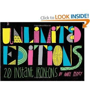 Editions 20 Instant Iron On Decals (9781452106984) Mike Perry Books