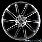 18 BLACK GOLF R STYLE WHEELS FITS VW GOLF R R32 GTI JETTA MK5 MKV MK6