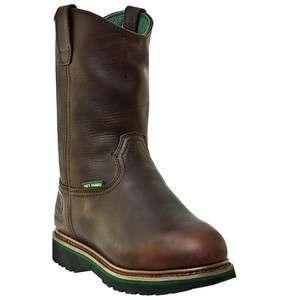 Mens John Deere JD4373 Metatarsal Boots   Pullon   Brown  Several