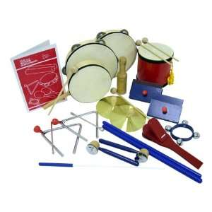 Deluxe Rhythm Band Set Musical Instruments