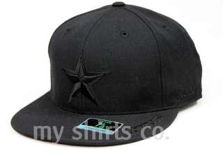 Reebok Dallas Cowboys NFL Fitted Cap Black NEW