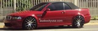 22inch Giovanna BMW Wheels&Tires 6 7series M6 X5 Rims