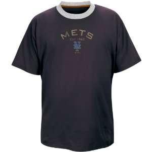 New York Mets Team Model Distressed T Shirt Sports