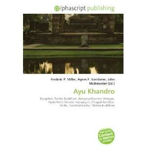 Ayu Khandro (9786134294324): Books