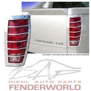 CADILLAC ESCALADE EXT 02 05 06 CHROME TAIL LIGHT COVER