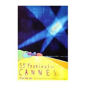 CANNES FILM FESTIVAL POSTER 2002 (FRENCH ROLLED   MEDIUM) Movie