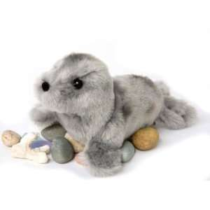 Lucille Gray Seal 8 by Douglas Cuddle Toys Toys & Games