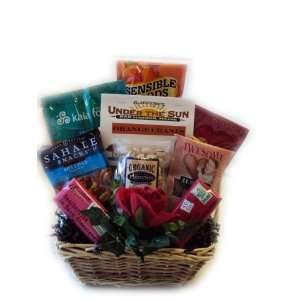 Healthy Valentines Day Gift Basket