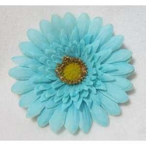 NEW Aqua Pool Blue Daisy Flower Hair Clip, Limited