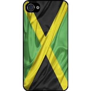Rikki KnightTM Jamaica Flag Black Hard Case Cover for