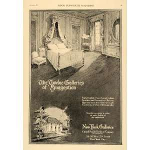 Ad Grand Rapids Furniture New York Gallery Bedroom   Original Print Ad