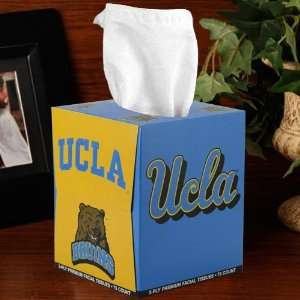 NCAA UCLA Bruins Box of Sports Tissues