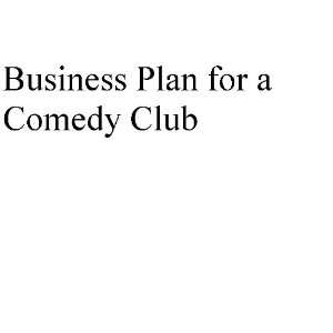 Business plan for comedy club