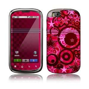 Circus Stars Decorative Skin Decal Sticker for Motorola Cliq 2 Begonia